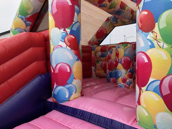 hyra ballong hoppborg