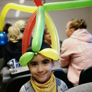 ballongfigur hatt