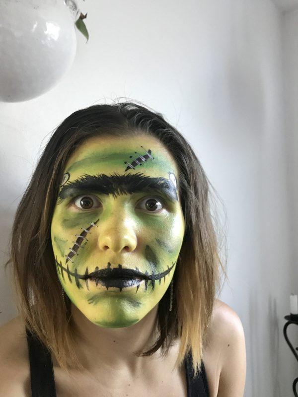 drakula ansiktsmålning