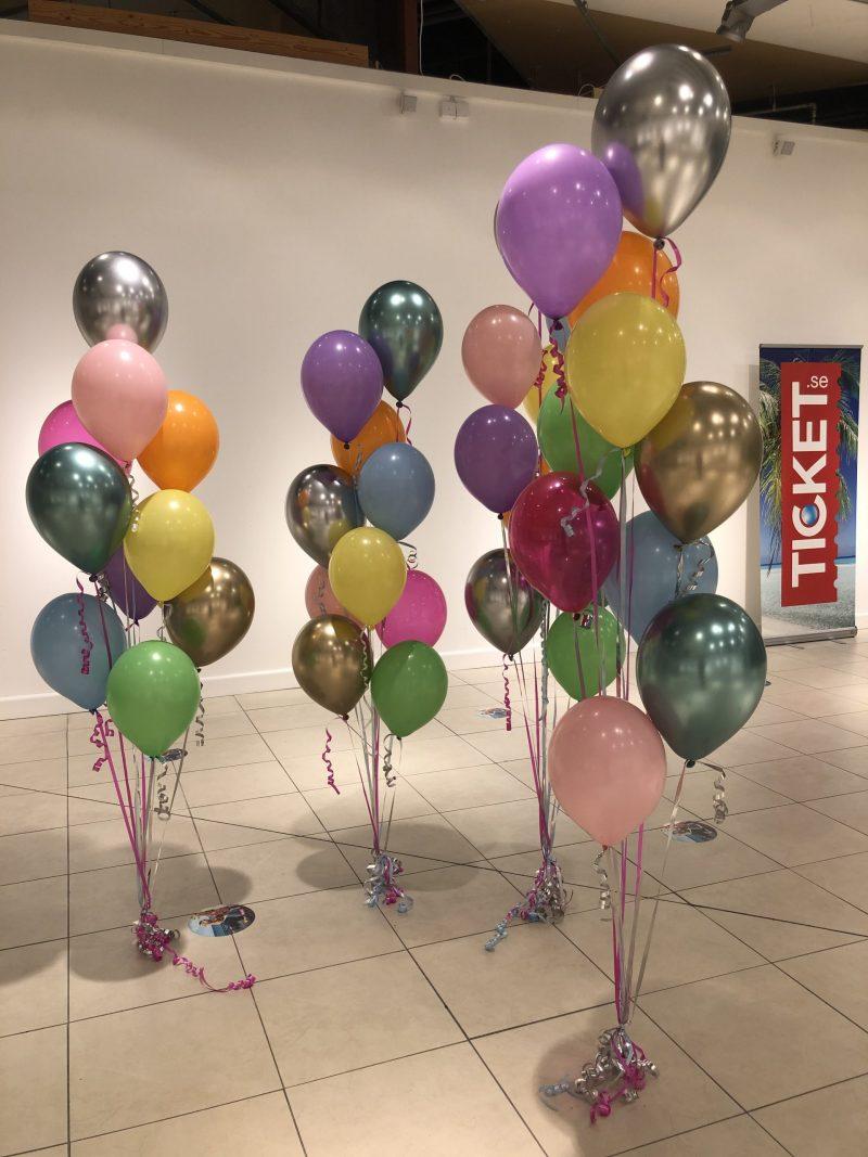 ballongbuketter med helium