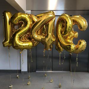 heliumballong siffra