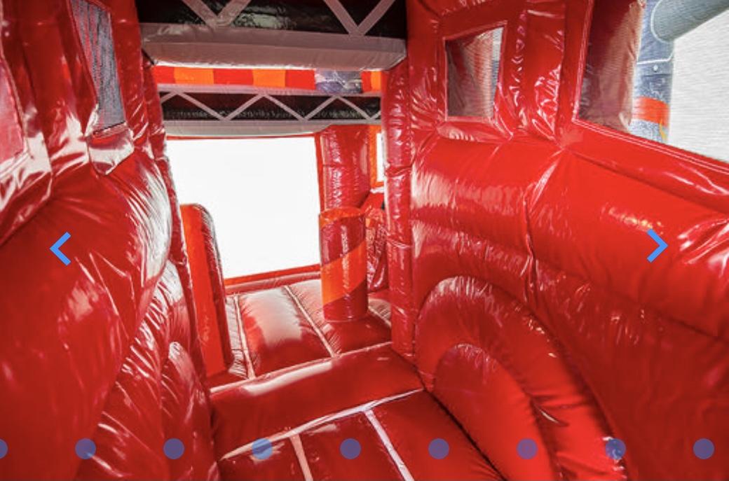 firetruck bouncy